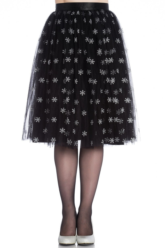 The Black Snow Skirt