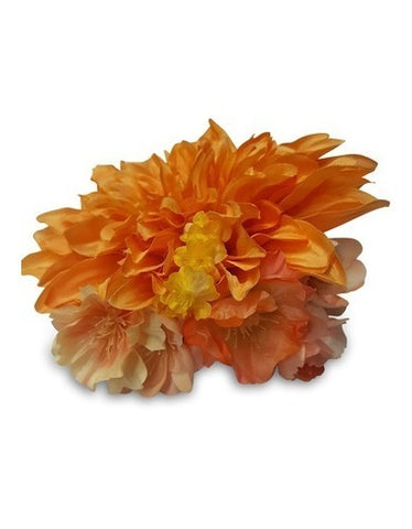 Tequila Sunrise Fascinator