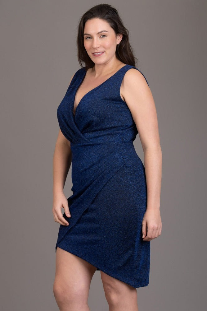 Body Con Wrap Dress