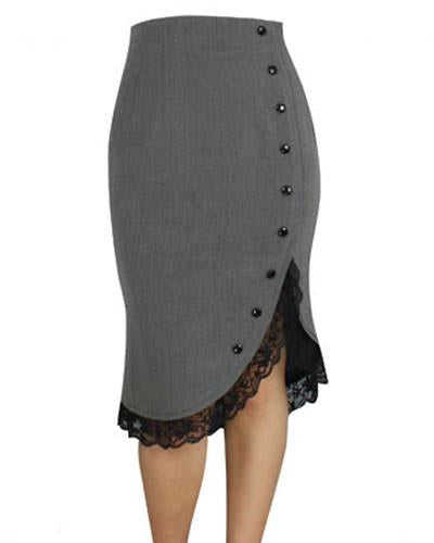 Lady Jane Gray Lace Pencil Skirt