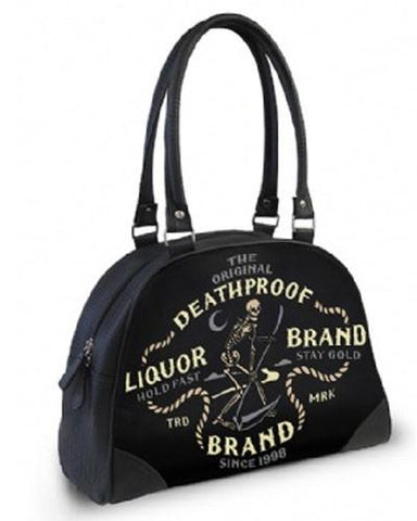 Liquor Brand Death Proof Bowler