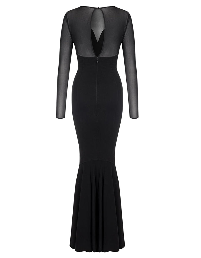 MAINLINE MORTICIA FISHTAIL DRESS