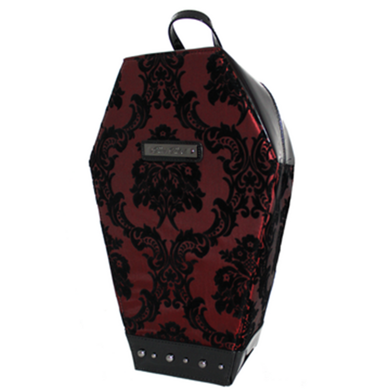 Deviously Damask Coffin Backpack