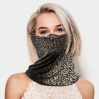 Patterned Pullover Face Mask