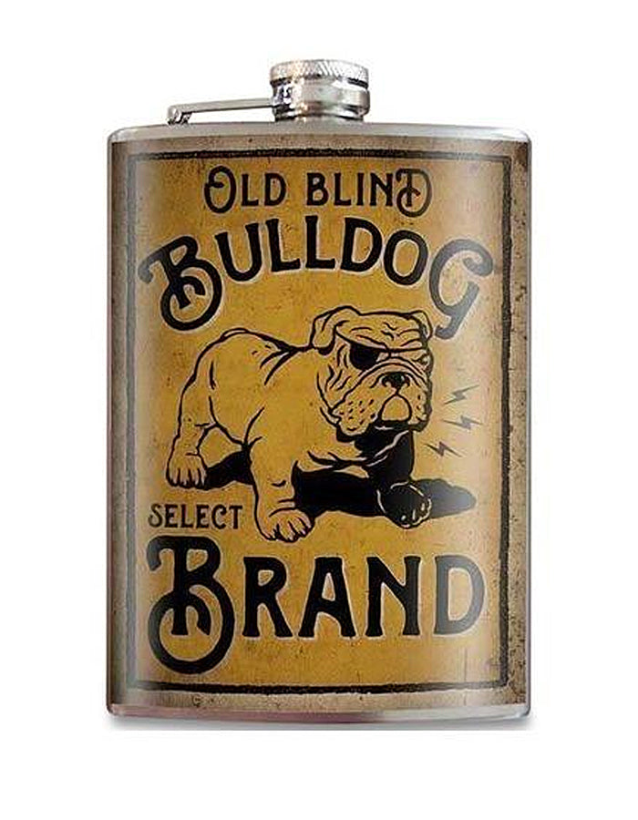 Blind Bulldog Flask