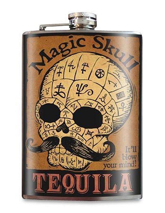 Magic Skull Flask