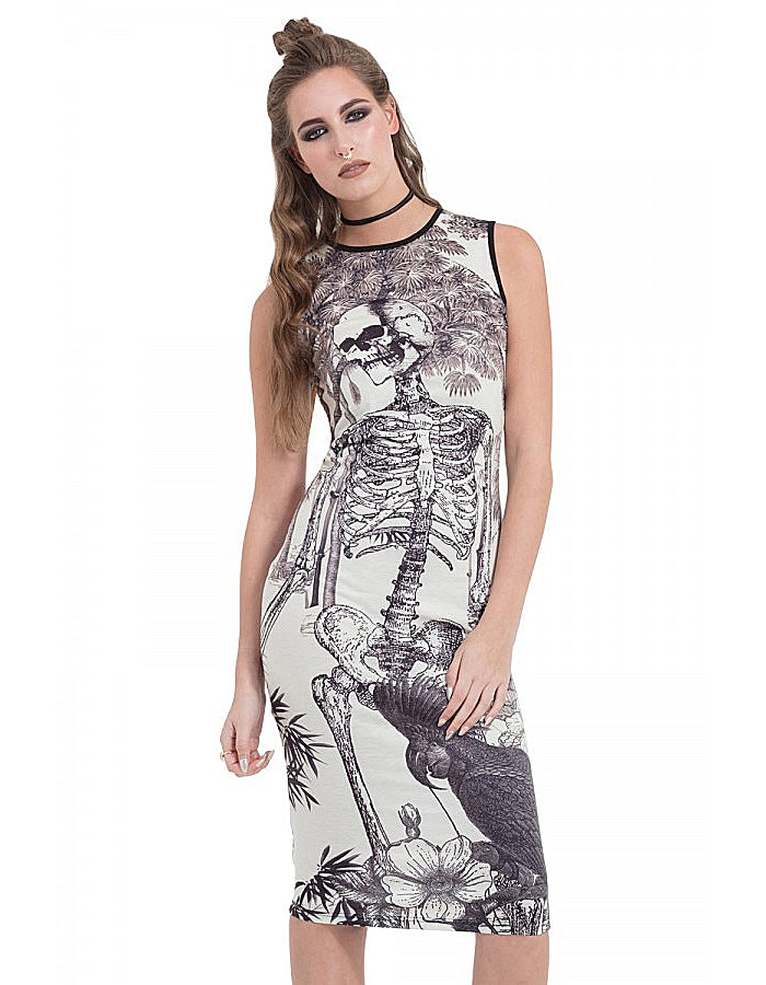 Lightly Morbid BodyCon Dress
