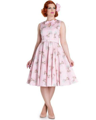 Perry Pink Deer Dress