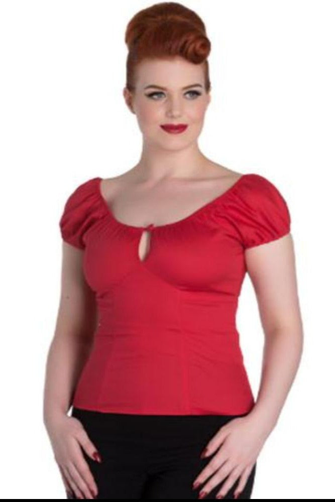 Melissa Top in Red