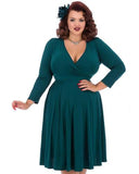 Lyra Teal Dress