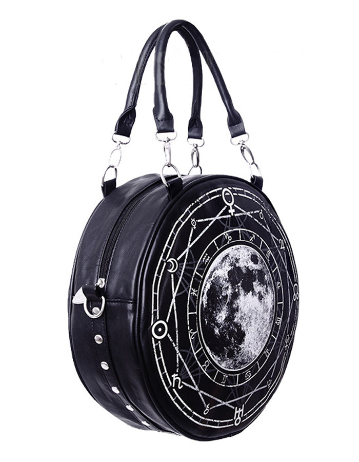 Zodiac Nights Round Bag