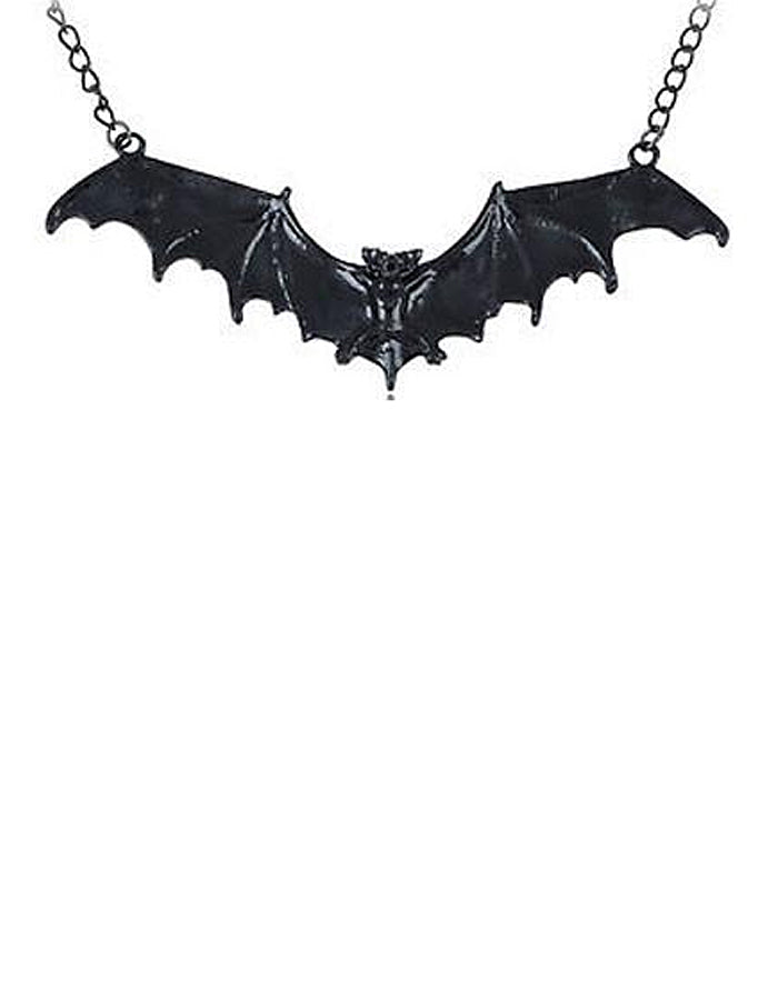 Shiny Bat Necklace