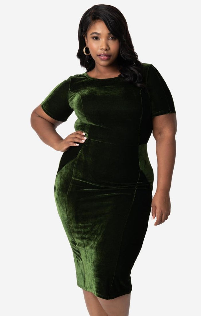 Mod Wiggle Dress in Wakame