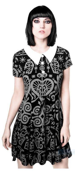 VooDoo Doll Skater Dress