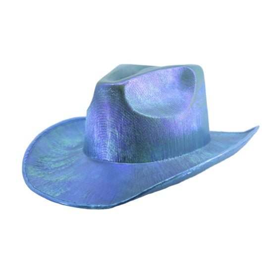Intergalactic Bounty Metallic Cowboy Hat