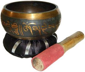 "Tibetan Singing Bowl - 5"" Wide"