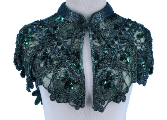 Luca French Beaded Collar