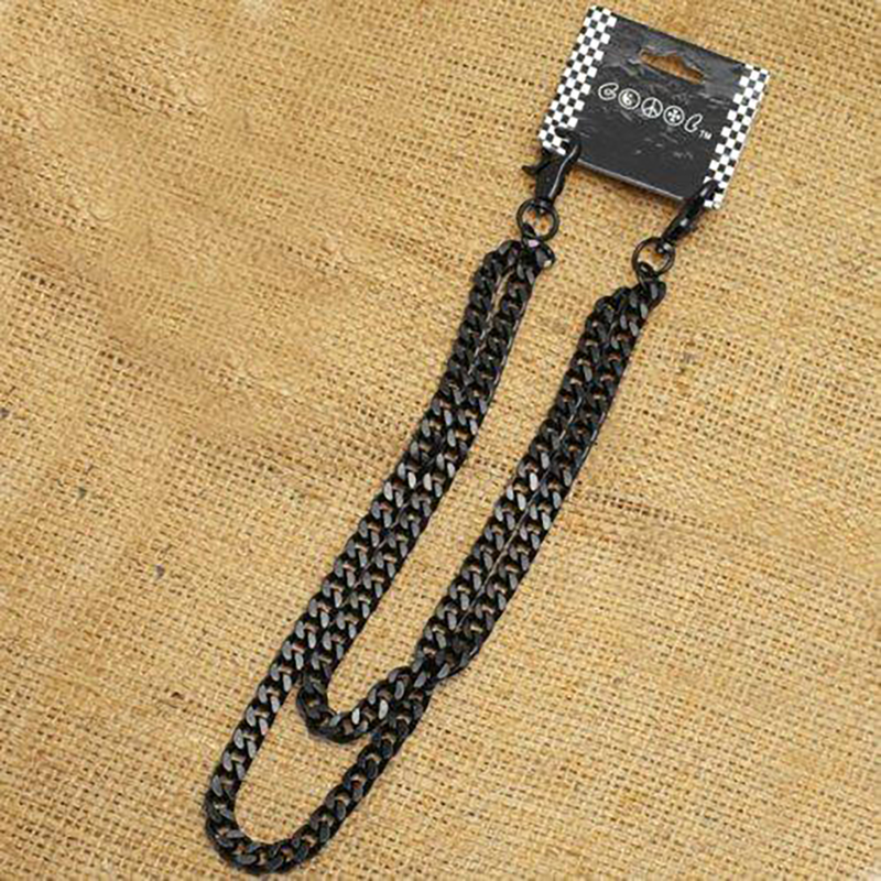 Dark Duo Wallet Chains