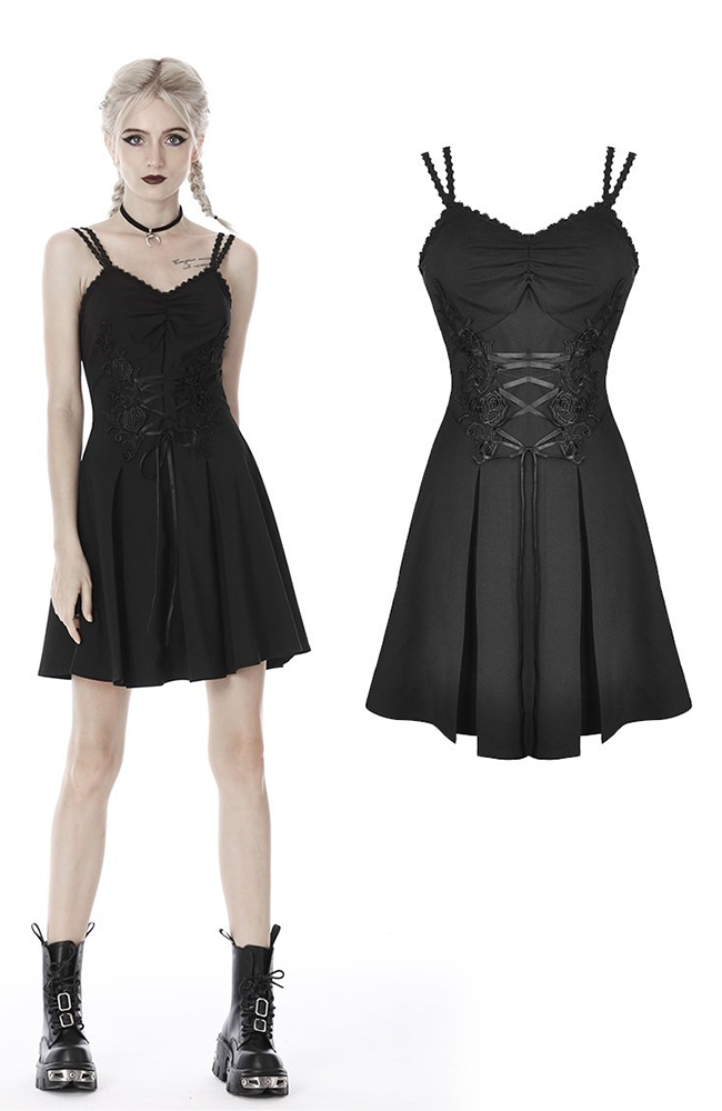 Dark Darling Day Dress