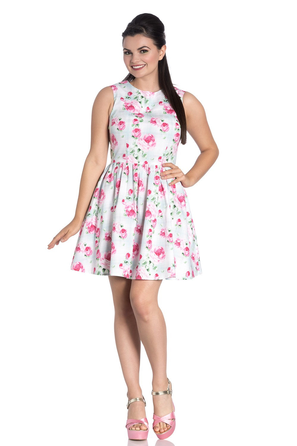 Roses in Bloom Natalie Mini Dress