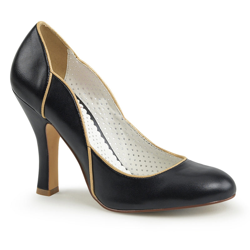 Gold-Trimmed Waves Heel