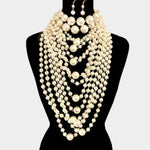 Cascading Pearls Set