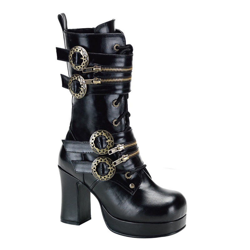 Gothika Gears Steampunk Boots