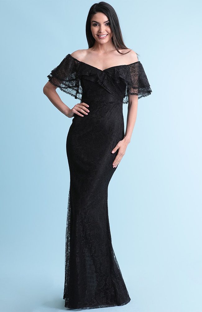 Svelte Lace Gala Dress