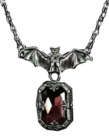 Bat & Ruby Necklace