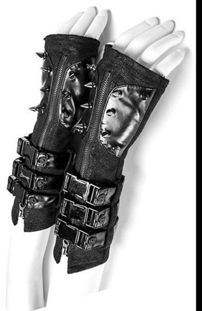 Heavy Metal Spiked Gloves