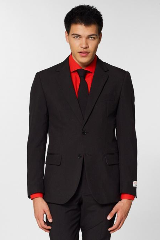Black Knight Men's Suit Set