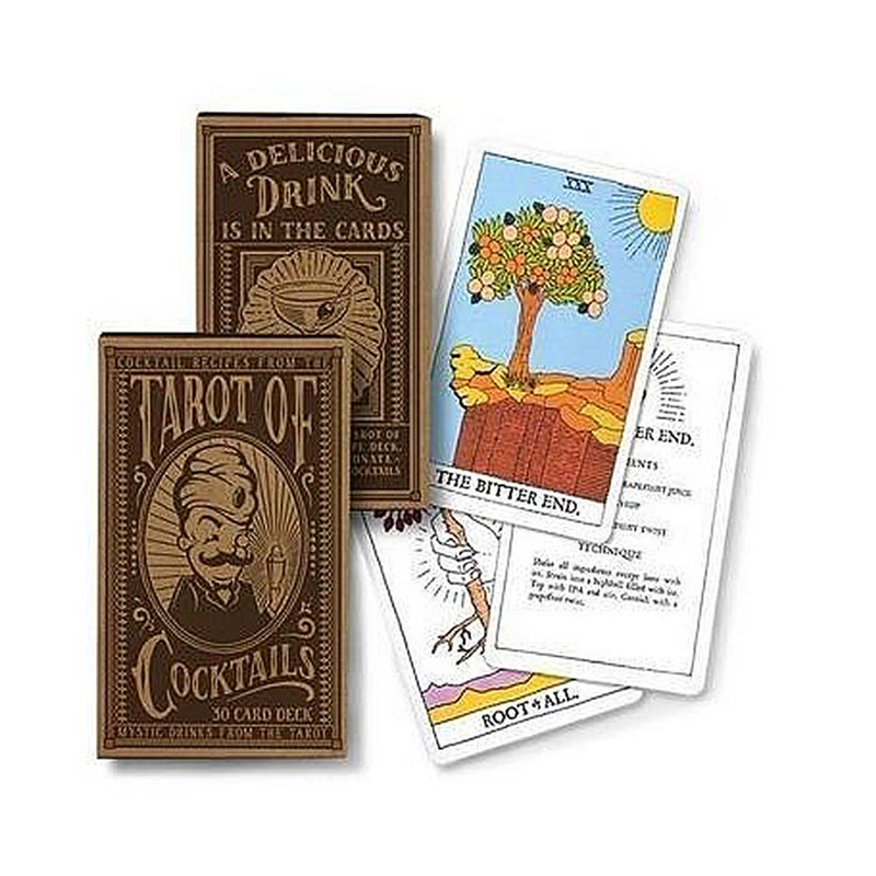 Tarot Deck of Cocktails