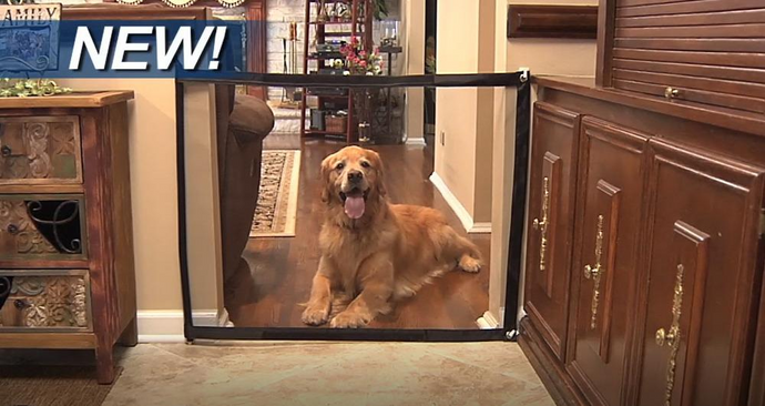 Ingenious Pet Gate!