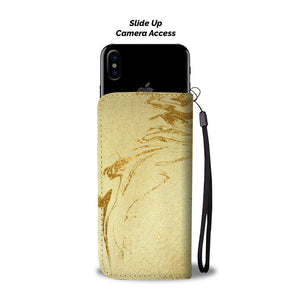 Gilded Gold Marble Cell Phone Case