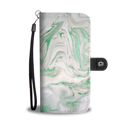 Mint Marble Gild Cell Phone Case