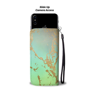 Green Rainbow Gild Cell Phone Case