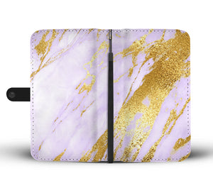 Light Lavender Gold Gild Cell Phone Case