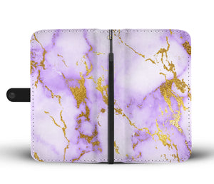Medium Lavender Gold Gild Cell Phone Case