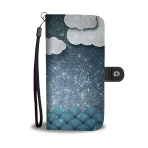 Clouds at Night Cell Case