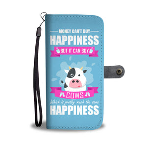 Money Buys Cows Cell Wallet Case