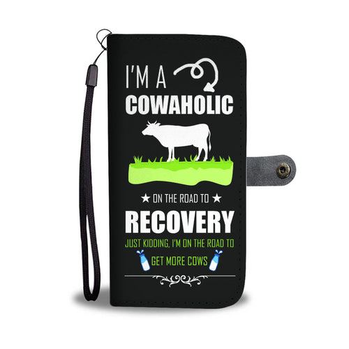 Cowaholic Cell Wallet Case