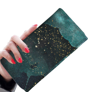 Washed Stars 9 Wallet Purse