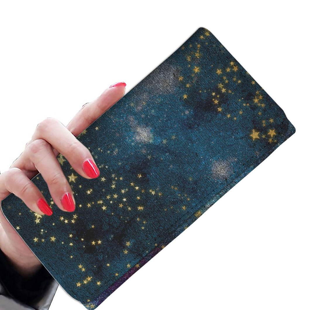 Washed Stars 11 Wallet Purse
