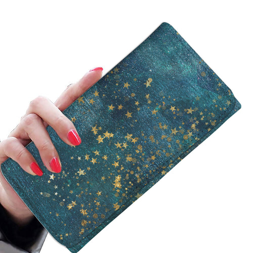 Washed Stars 12 Wallet Purse