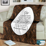 HBM-1220 Bronze Brown Grandma's Hug Blanket