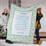 HBM - 1780 Unicorns 3 Family Hug Blanket