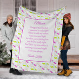 HBS - 1760 Unicorn 2 Family Hug Blanket