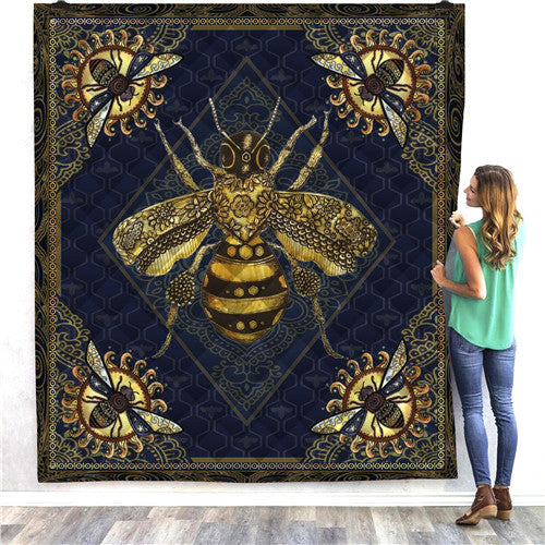 Bumble Bee Quilt/Throw
