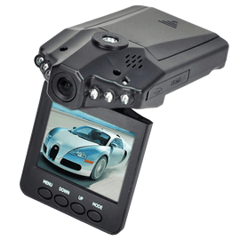 2.5 inch HD Car LED IR Vehicle DVR Road Dash Video Camera Recorder Traffic Dashboard Camcorder LCD 270 degrees whirl