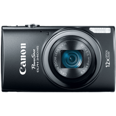 Canon PowerShot ELPH 340 HS 16MP Digital Camera Black